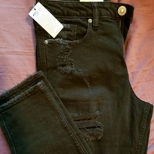 NWT silver east end cropped jeans